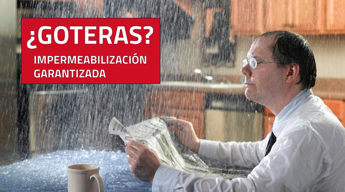 Impermeabilizantes en Guadalajara Jalisco Goteras