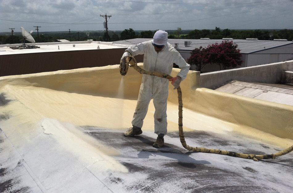 impermeabilización con espuma de poliuretano